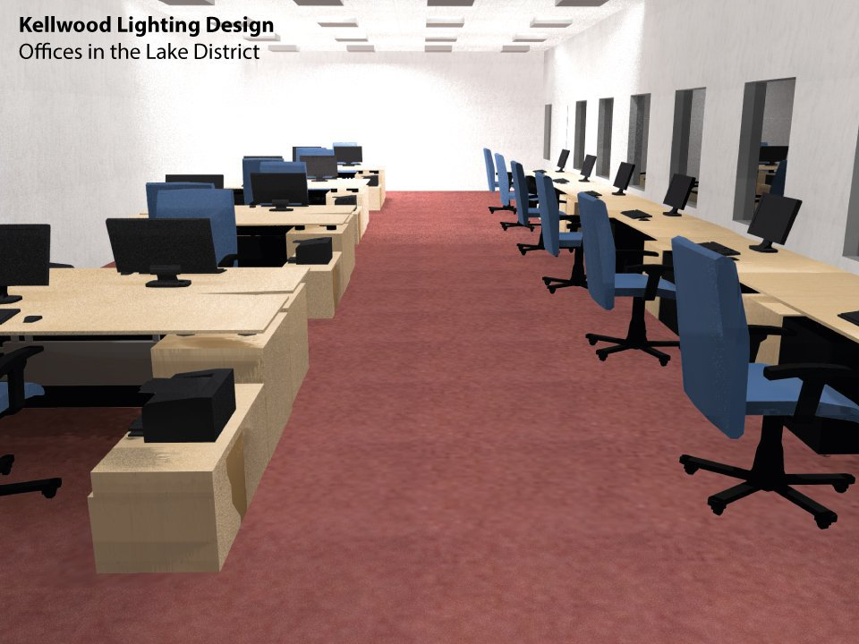 Office Lighting Design in the Lake District